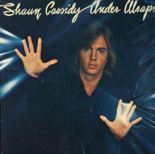 teen idol shaun cassidy under wraps lp 1978 pop album