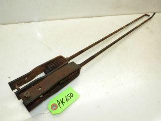 power king 1614 tractor brake rods  24