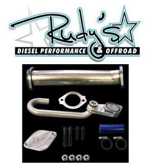 Diesel EGR Cooler Delete W/ Up Pipe Ford 6.0 Powerstroke Diesel 03 07