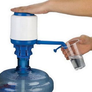 bottled drinking water press manual hand pump 5 gallon from