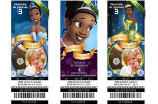 princess tiana printable birthday party invitation  10