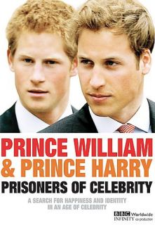 Prince William Prince Harry Prisoners of Celebrity DVD, 2005