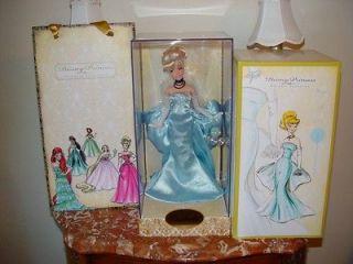 Disney Princess Designer Collection CINDERELLA Doll LE #7251/8000