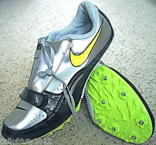 Nike Zoom Track Field Spikes 11.5 Run Jump Hurdles Pole Vault Shoes
