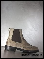 TODS Mens Shoes Ankle Boots Tronchetto Elastico Esquire Giovane