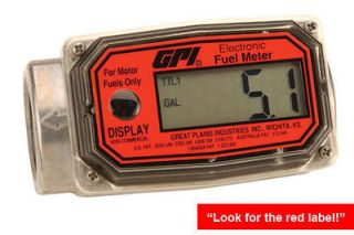 Great Plains 113255 1 Petro Fuel Meter 1NPT Gallons FREE SHIP US48