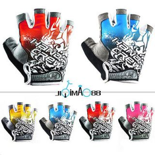 New Cycling Bike Bicycle Half Finger Gloves Size M  XL Three Colours
