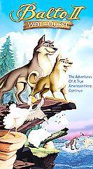 Balto II Wolf Quest VHS, 2002, Clamshell