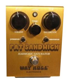 Dunlop Way Huge Fat Sandwich Distortion Guitar Effect Pedal