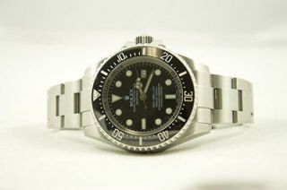 Rolex Watch Mens Stainless Steel Heavy Style Deep Sea 116660 44mm