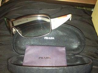 authentic prada sunglasses white