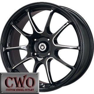 Konig Illusion Wheels Rims 5x110 5 Lug G6 HHR Cobalt Saab Malibu Aura