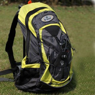 2012 Cycling Bike Bicycle Sports bag Backpack YELLOW with Rain cover