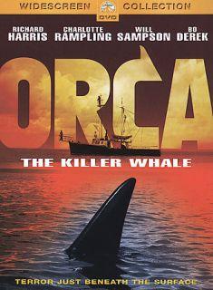 Killer Whale, DVD, Richard Harris, Charlotte Rampling, Will Sampson