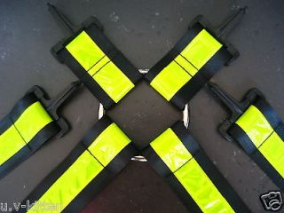 Uv Reflector Braces Phat pants Suspenders Neon Rave raver clothing