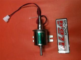 ELECTRIC FUEL PUMP UNIVERSAL CARBURATED 12V ALB FP 02 motorcycle atv