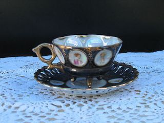 royal sealy china japan porcelain tea cup and saucer time