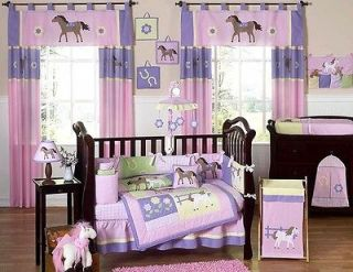 Newly listed PINK PONY COWGIRL BABY GIRL CRIB BEDDING SET FOR NEWBORN