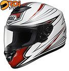 Medium ~ Shoei Qwest Airfoil TC 1 Red White Black Full Face Motorcycle