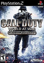 Newly listed Call of Duty World at War   Final Fronts (Sony