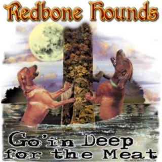 shirt Coon Hound Hunting Hunter Hunt Dog Redbone Water 2XL 3XL