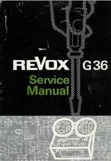 revox G36 in Reel to Reel Tape Recorders