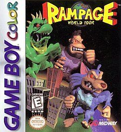 Rampage World Tour Nintendo Game Boy Color, 1998