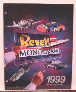 1999 revell monogram model kit catalog 84 pages returns accepted