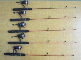 Zebco hawg seeker spinning fishing reel for Dock demon fishing rod