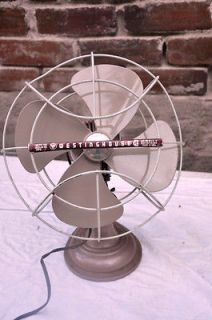 newly listed vintage westinghouse electric fan  25