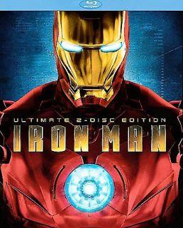 Iron Man Blu ray Disc, Ultimate Edition 2 Disc Set