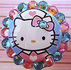 Hello Kitty retractable reel lanyard id badge holder