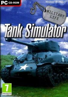 LIFE TANK SIMULATOR PC GAME Sherman Firefly and Tiger I tanks NEW