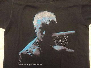 Vintage 80s BILLY IDOL 1983 concert tour generation x punk rock T