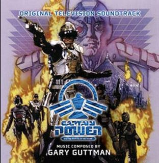 CAPTAIN POWER AND THE SOLDIERS OF THE FUTURE ORIGINAL TV Series CD