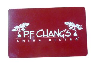 newly listed pf changs gift card  19