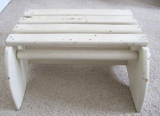 """Wood 6"""" Tall Child Foot Step Stool for Bed Sink Potty Training ETC"""