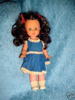 VINTAGE 60s 70s ITALY ZANINI ZAMBELLI ZZ TOY Doll