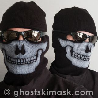 unofficial modern warfare 2 ghost ski mask replica new  17