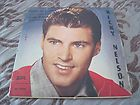RICKY NELSON   Teen Age Idol RARE ISRAEL EP UNIQUE PS COVER VG+/VG+