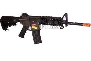 jg m4 ris cqb metal aeg electric airsoft rifle gun