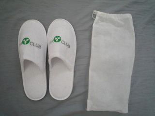 NEW SLIPPERS FROM SPA CLUB HOTEL DEAD SEA ISRAEL one size cute indoor