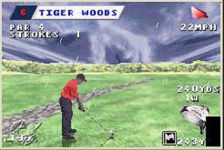 Tiger Woods PGA Tour Golf Nintendo Game Boy Advance, 2002