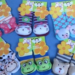 baby toddlers kids soft rattles toys socks feet finders 0 2 years