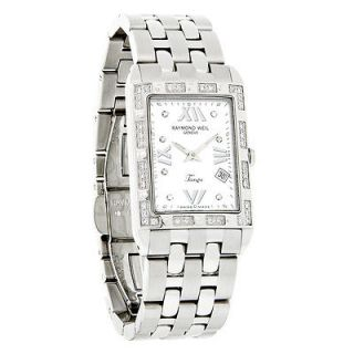 Raymond Weil Tango Spirit Ladies Diamond MOP Swiss Quartz Watch 5981