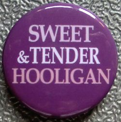 SWEET & TENDER HOOLIGAN THE SMITHS BADGE BUTTON PIN (1inch/25mm