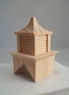 Cupola barn roof Half Scale 124 Dollhouse wooden #H2407 Houseworks