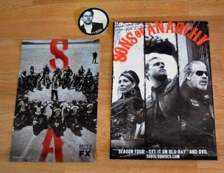 sons of anarchy sticker in Entertainment Memorabilia