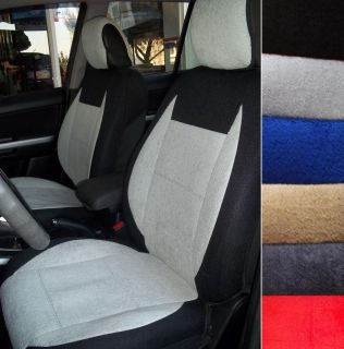 for RENAULT MEGANE 100% Cotton Towel Front Seat Covers Black Beige