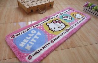 Sanrio Hello Kitty Bedside Balcony Mat Rug Carpet RARE +FREE SHIP